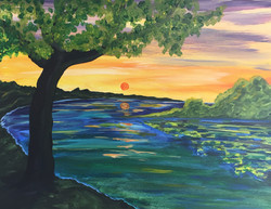 Umpqua River at Sunset.jpg