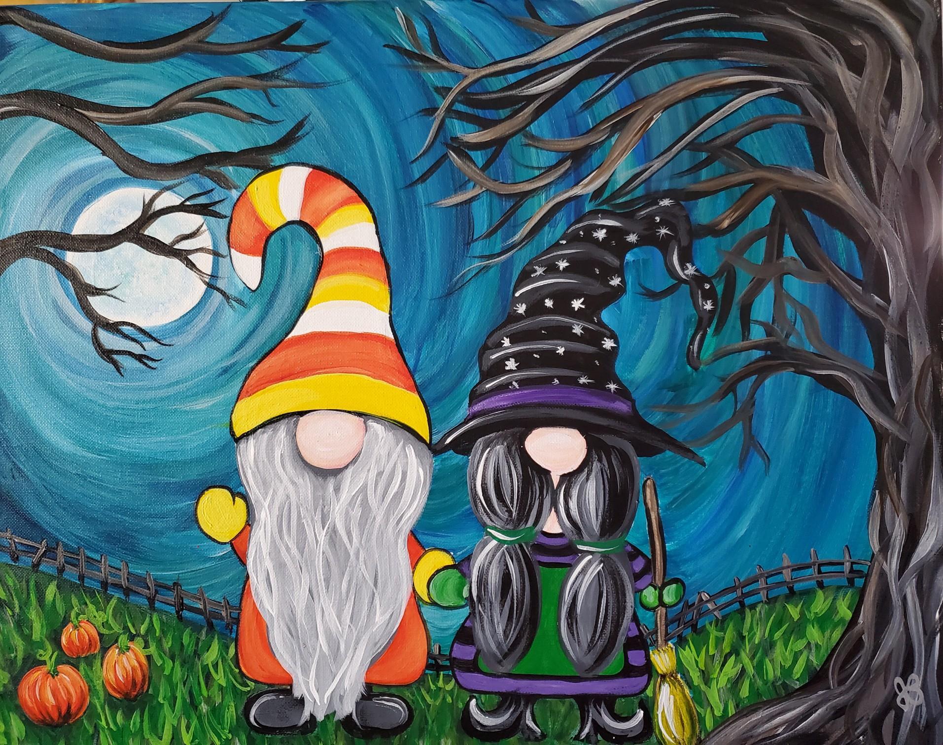 Halloween Gnome Class #2
