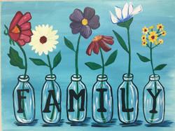 Family Bud Vase