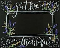 Gather & Be Thankful
