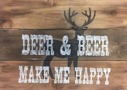 Deer and Beer