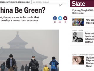 Slate: Can China be Green?