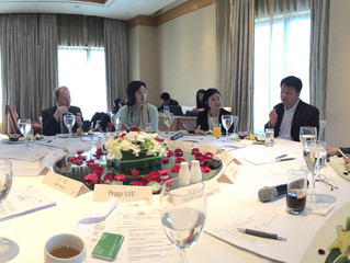 Discussing smart city development at Urban China Initiative Roundtable