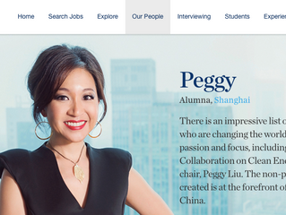 McKinsey and Company: Meet Our Alumna Peggy Liu