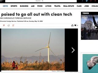 China poised to go all out with clean tech