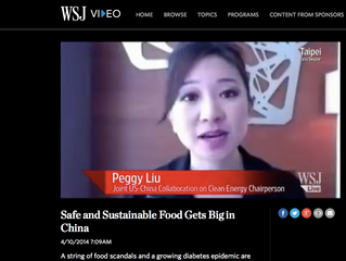 WSJ: Safe and sustainable food gets big in China