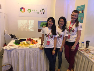 Presenting Food Heroes at Shanghai's Eco Design Fair