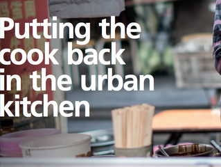 Putting the cook back in the urban kitchen