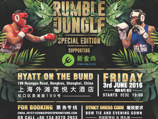 Brawl on the Bund Donates Charity Auction Proceeds to JUCCCE
