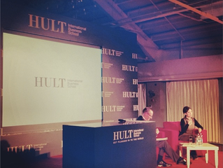 Speaking at the Hult Business School Visionary Leader Speaker Series