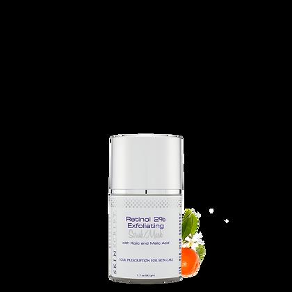 Retinol 2% Exfoliating Scrub Mask