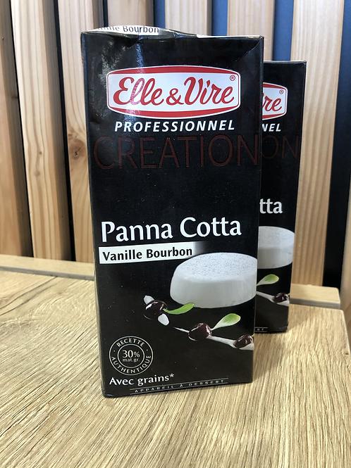 Panacotta  vanille bourbon