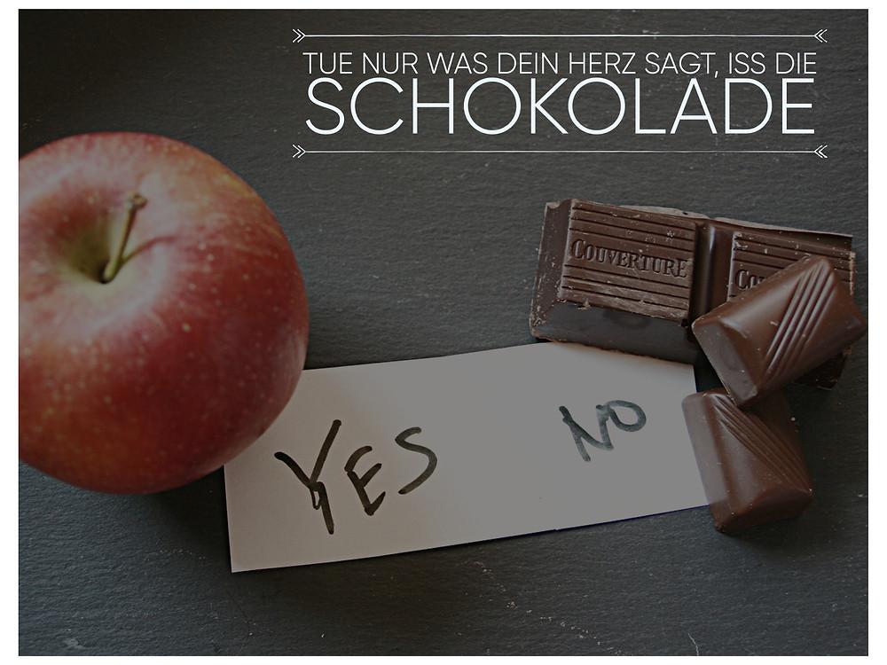 Apfel und Schokolade, Auswahl yes and no