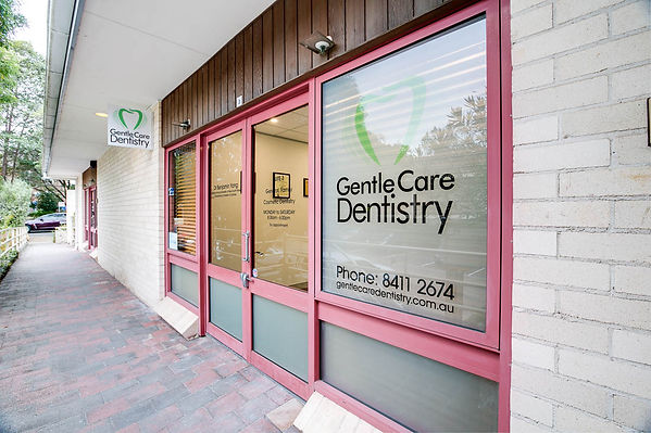 Gentle Care Detistry front entrance