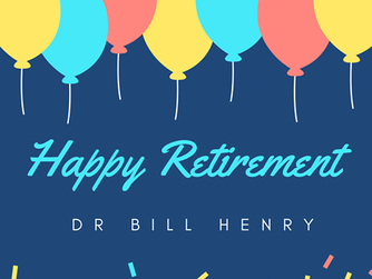 Farewell to Dr. Bill Henry