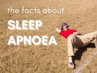 The Facts about Sleep Apnoea