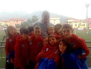 i nostri esordienti 05 incontrano Antonio Romei