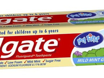 Product of the Week: Colgate My First Toothpaste