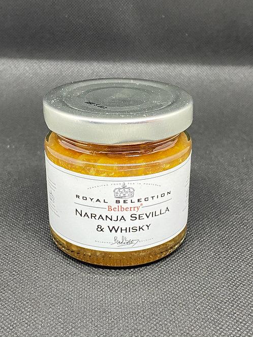 Mermelada de naranja y whisky 135 grs. Belberry
