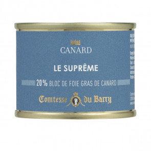 Suprema de Foie de pato (20%foie) 65gr.
