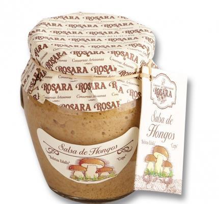 Salsa de Hongos Rosara 185 grs.