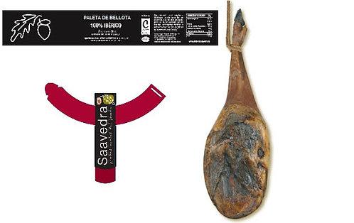 Paletilla Iberica de Bellota Saavedra 5-5,5 kg Brida negra