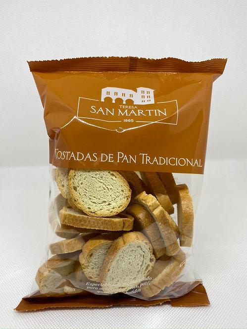 Pan natural tostado en bolsa Teresa San Martín 100 grs.