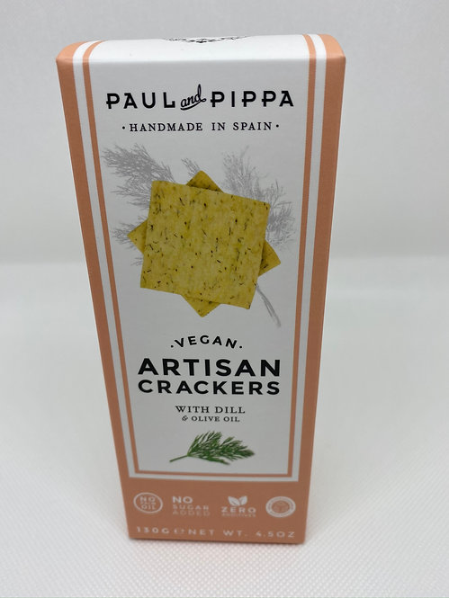 ARTISAN CRACKERS CON ENELDO PAUL & PIPA