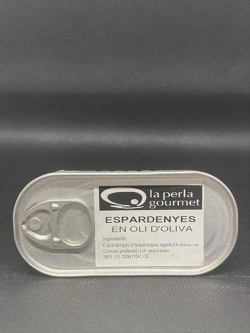 """Espardeñas en aceite de Oliva """"La Perla"""""""