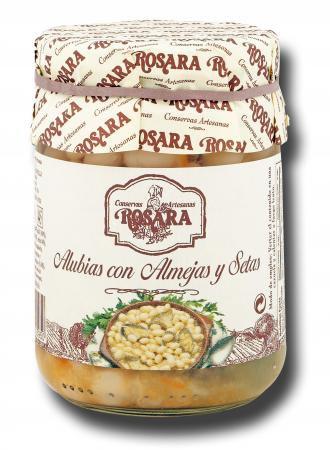 Alubias con almejas Rosara 1/2 kg