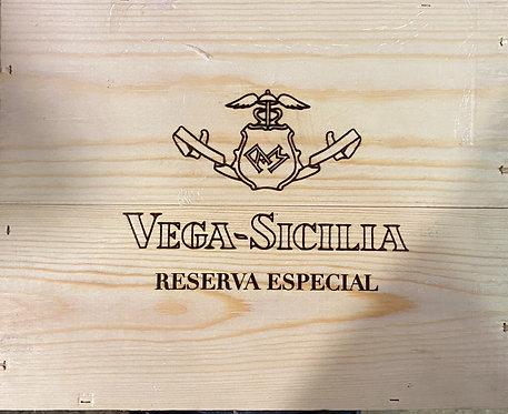 Vega Sicilia Reserva Especial 75 cl.caja 3 botellsd