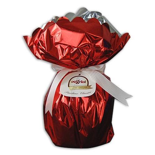 Panetton Negrini saco rojo 750 grs.