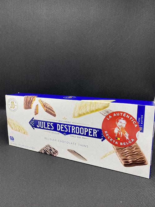Belgian Chocolate Thins 100 g