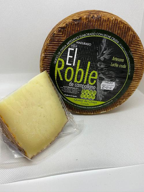 Queso curado El Roble taco 450 grs.