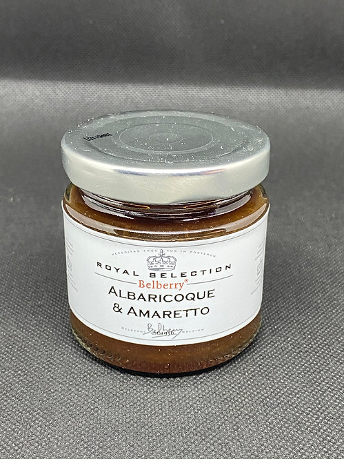 Mermelada de albaricoque y amareto 130 grs. Belberry
