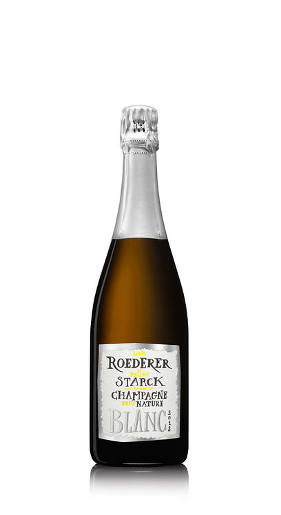 Louis Roederer Brut Nature – Philippe Starck 2012