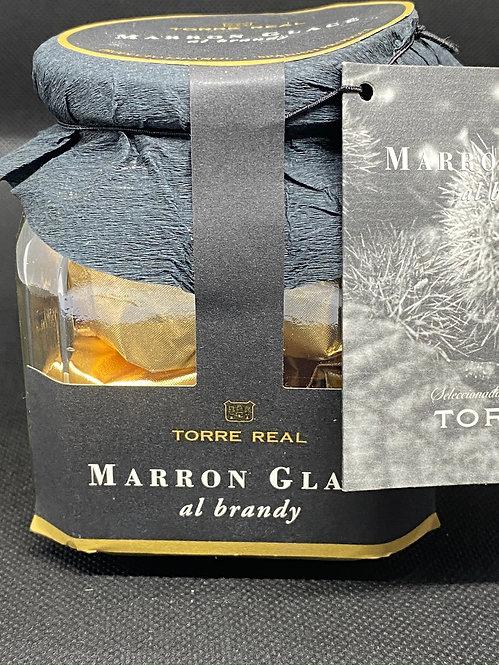Marron Glacé al brandy 200 g