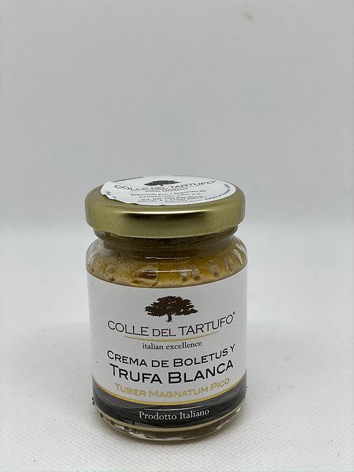 Crema de boletus y trufa blanca Colle del tartufo