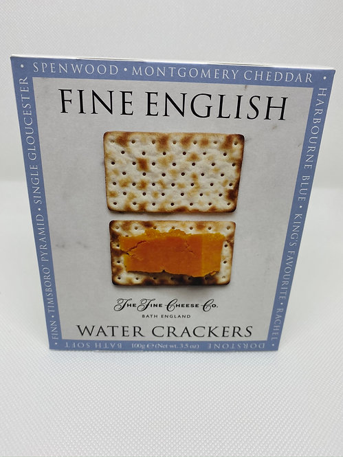 Fine English. Water Crackers