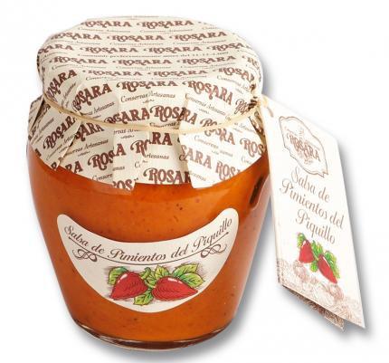 Salsa de pimientos del Piquillo Rosara 185 grs.