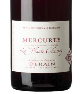 Derain Mercurey La Plante Chassey 2016