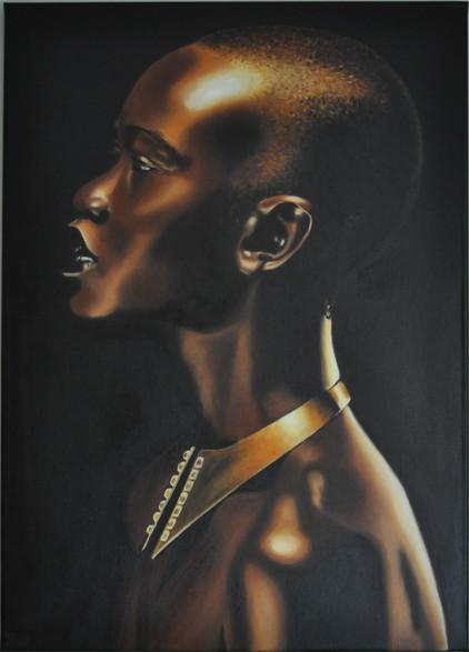 Olej na plátně, 2020, 50x70 cm, podle předlohy (fotografie); k dispozici