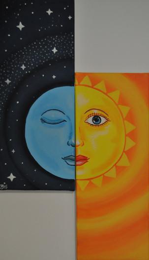 Měsíc a Slunce