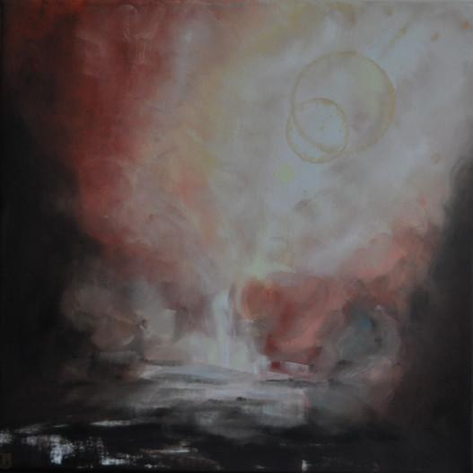 Olej na plátně, 2020, 50x50 cm, podle předlohy (Angel Roberts); k dispozici