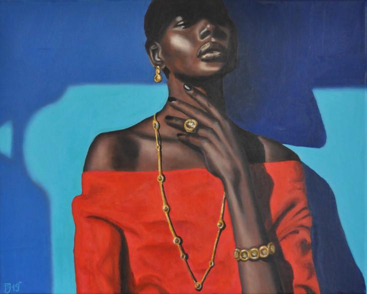 Olej na plátně, 2019, 50x40 cm, podle předlohy (fotografie); k dispozici