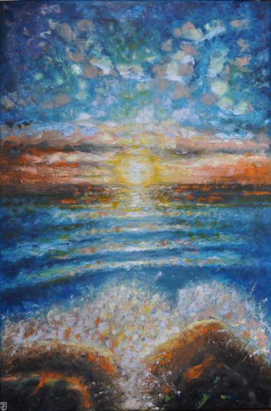 Olej na plátně, 2020, 60x90 cm, částečně podle předlohy