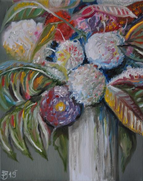 Olej na plátně, 2019, 30x40 cm, podle předlohy