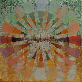 Abstraktní olejomalba | Peja Art galerie – Petra Jaceňková