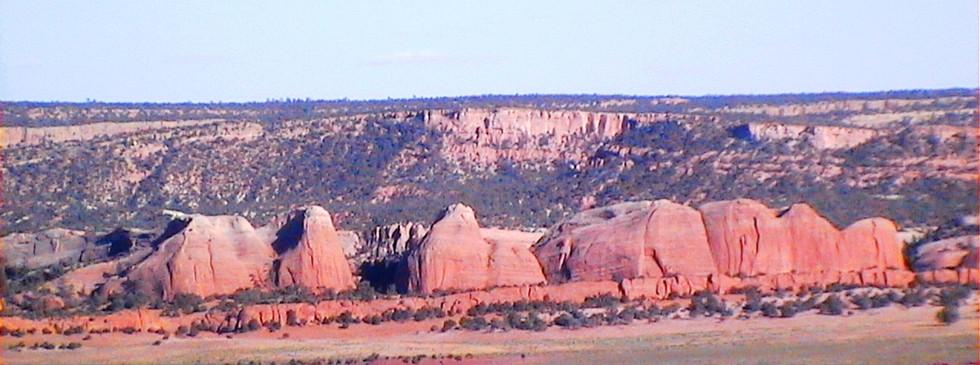 Route vers Santa Fe