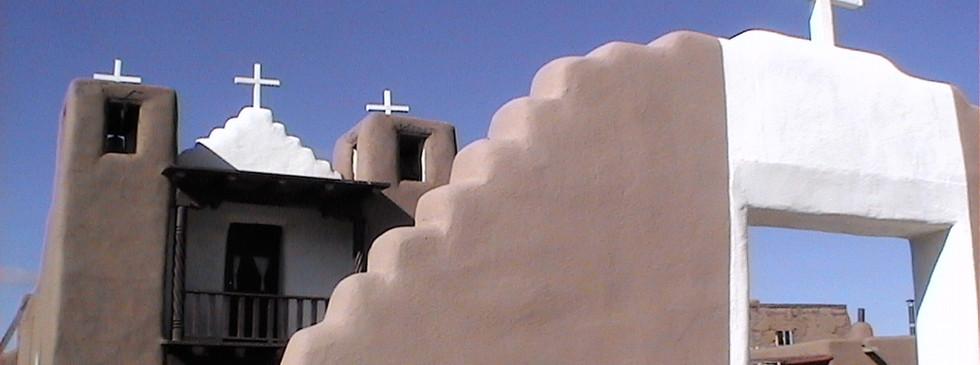 Église Pueblo Taos